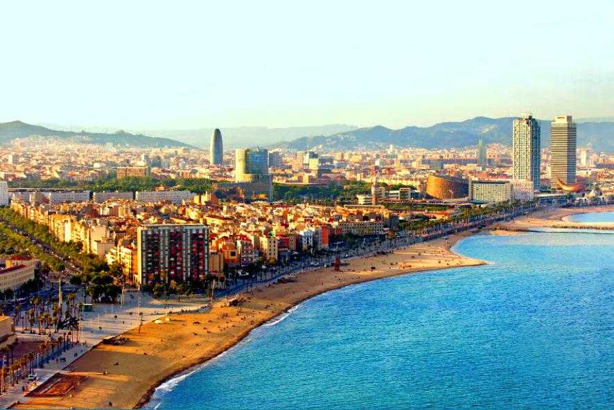 Tour en helicóptero por Barcelona