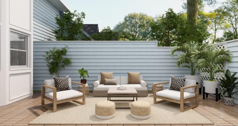 Consejos para decorar terrazas de áticos con encanto