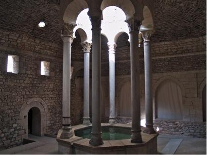 Arab baths Girona