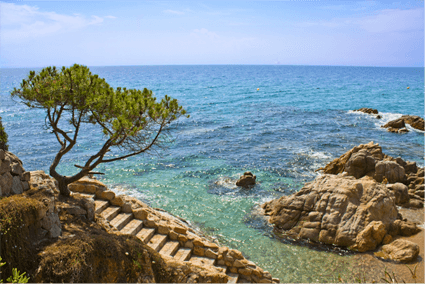 Coastal paths begur