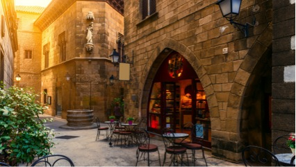 Gothic District Barcelona