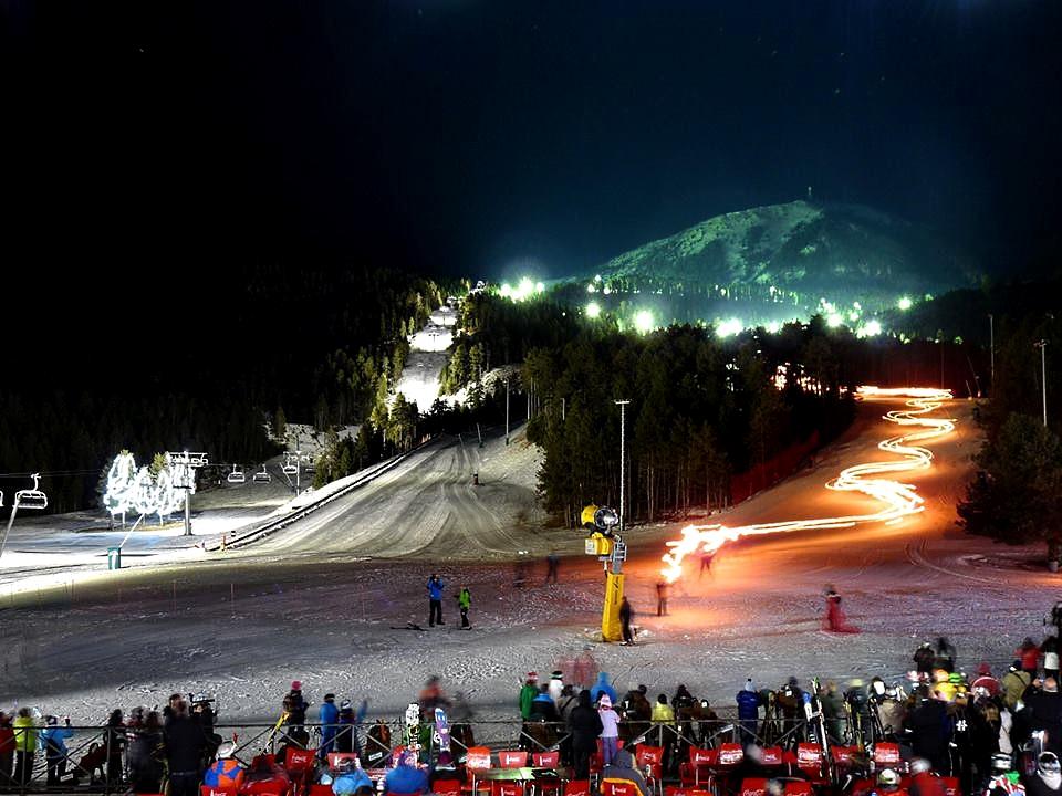 Night-Skiing Masella