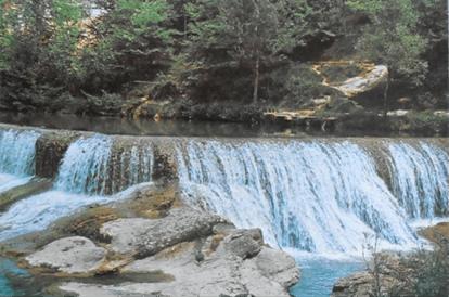 water falls Olot